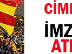 Cim-Bom&#39un hayallerini yıkan imza