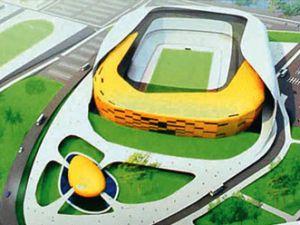 Malatya&#39ya kayısı figürlü stadyum
