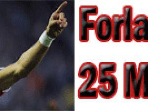 FORLAN'A 25 MİLYON €