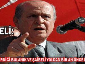 MHP Genel Başkanı Bahçeli.