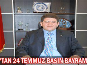 Mustafa Boydak Basın Bayramı Mesajı