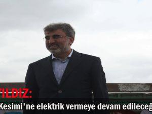 Enerji Ve Tabi Kaynakları Bakanı Yıldız