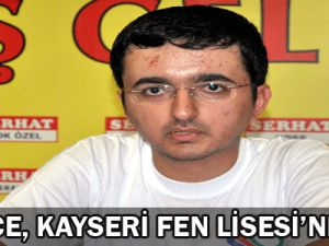 Kayseri Fen Lisesi&#39nden 2 Derece