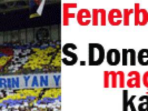 Fenerbahçe Maçı Yarıda kaldı!