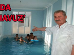 Salonunu Havuz Yaptı