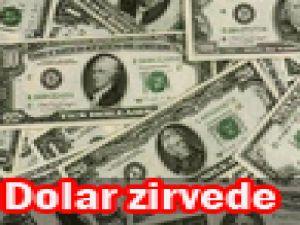 Dolar zirvede