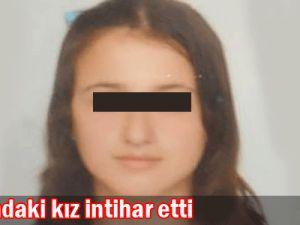 16 yaşındaki kız intihar etti