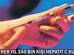 Dünyada Her yıl 350 bin kişi hepatit