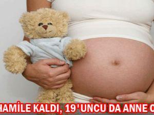 18 defa hamile kaldı