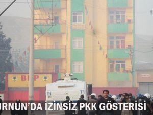 Zeytinburnun&#39da korsan gösteri