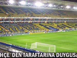 Fenerbahçe&#39den Taraftarına duygusal Çağrı
