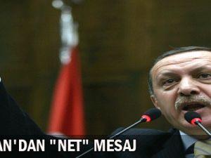 Başbakan&#39dan Net Mesaj
