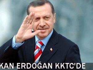 Başbakan  Erdoğan Kktc&#39de