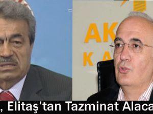 Chp&#39li Kamer Genç, Ak Parti&#39li Elitaş&#39tan Tazminat Alacak!