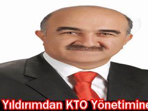 Başkan Yıldırımdan KTO Yönetimine Brifing