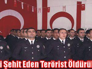 Komseri Şehit Eden Terörist Öldürüldü