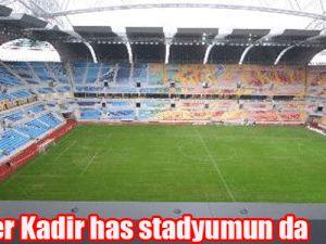 Gürcü Milliler Kadir Has Stadı,nı Gezdi