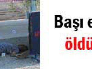 850 lira için başı ezilerek öldürüldü