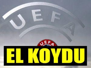 Uefa el koydu