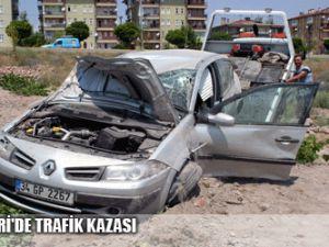 KAYSERİ&#39DE TRAFİK KAZASI
