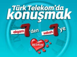 """Türk Telekom, """"7'den 7'ye Bedava Kampanyası'' 1 Ocak 2012 ye kadar uzatıldı"""