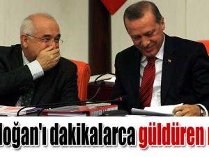 Erdoğan&#39ı güldüren not