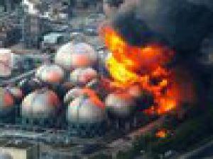 Fukuşima nükleer santralinde patlama