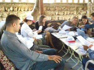 Bünyan'a 5 Farklı Ülke Temsilcileri AB Projesi İçin  Geldi