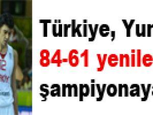 Türkiye, Yunanistan'a 84-61 yenilerek şampiyonaya veda etti