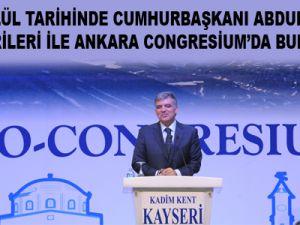 KADİM KENT KAYSERİ GÜNLERİ 19 - 22 EYLÜL'DE ATO CONGRESİUM'DA