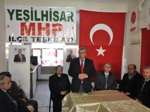 """MUSTAFA ÖZSOY """" YEŞİLHİSAR İÇİN TURİZM PROJELERİ YAPTIK'"""