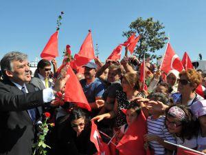 Cumhurbaşkanı Gül Yalova'da