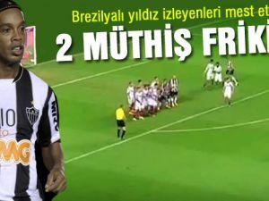 Ronaldinho farkı ne firikik be..video