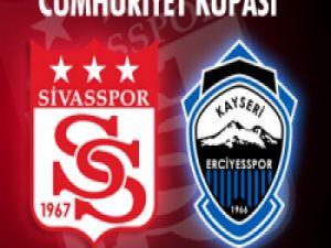 Cumhuriyet Kupası'nda Sivas ile Erciyes karşılacak