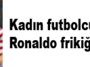 ABD'de kadın futbolcudan Ronaldo frikiği