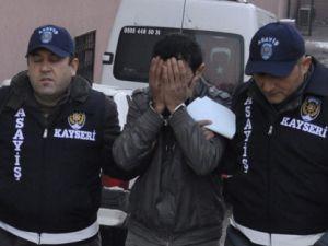 Kayseri'de laptop hırsızlığı