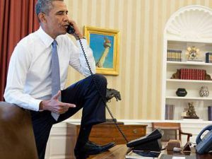 Obama'dan Olay Poz - VİDEO