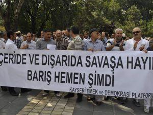 EMEK VE DEMOKRASİ PLATFORMU'NDAN SAVAŞA HAYIR