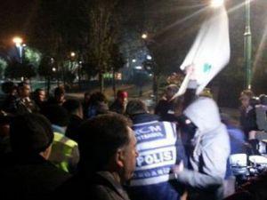 Gezi Parkı'nda Yine Olaylar Çıktı! Polis Müdahale Ediyor