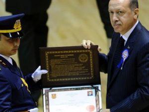 Erdoğan'ın katıldığı GATA'daki törende bir ilk