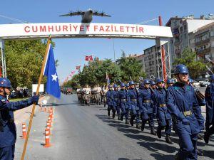 KAYSERİ'DE 30 AĞUSTOS PROVASI YAPILDI