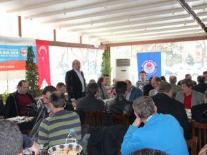 Eğitim-Bir-Sen Kayseri şubesi Aralık ayı il divan toplantısını yaptı