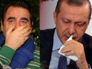 Canlı yayında ağlayan Erdoğan'a İbo'dan destek