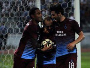 Trabzonspor Avrupa'da tura çok yakın