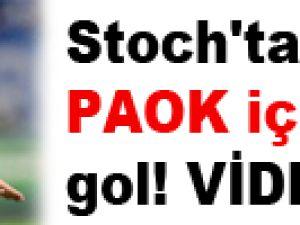 Stoch'tan PAOK için altın gol! VİDEO
