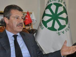 Kayseri Şeker Fabrikası Başkanı Akay 2013 Yılını Değerlendirdi