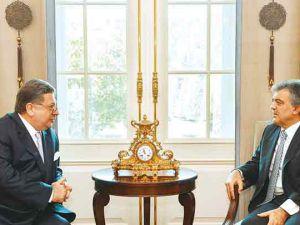 Cumhurbaşkanı Abdullah Gül, görüşmenin detaylarını anlattı