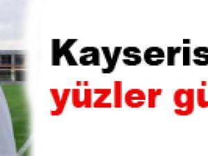 KAYSERİSPOR'DA YÜZLER GÜLÜYOR