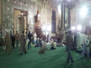 Mısır'da El Fetih Camii'nde 1 Türk tutuklandı! VİDEO