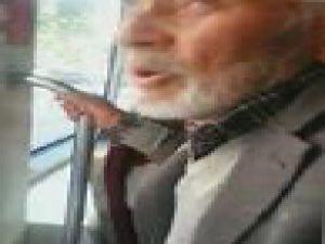 Tramvaya İlk Kez Binen Amca - VİDEO